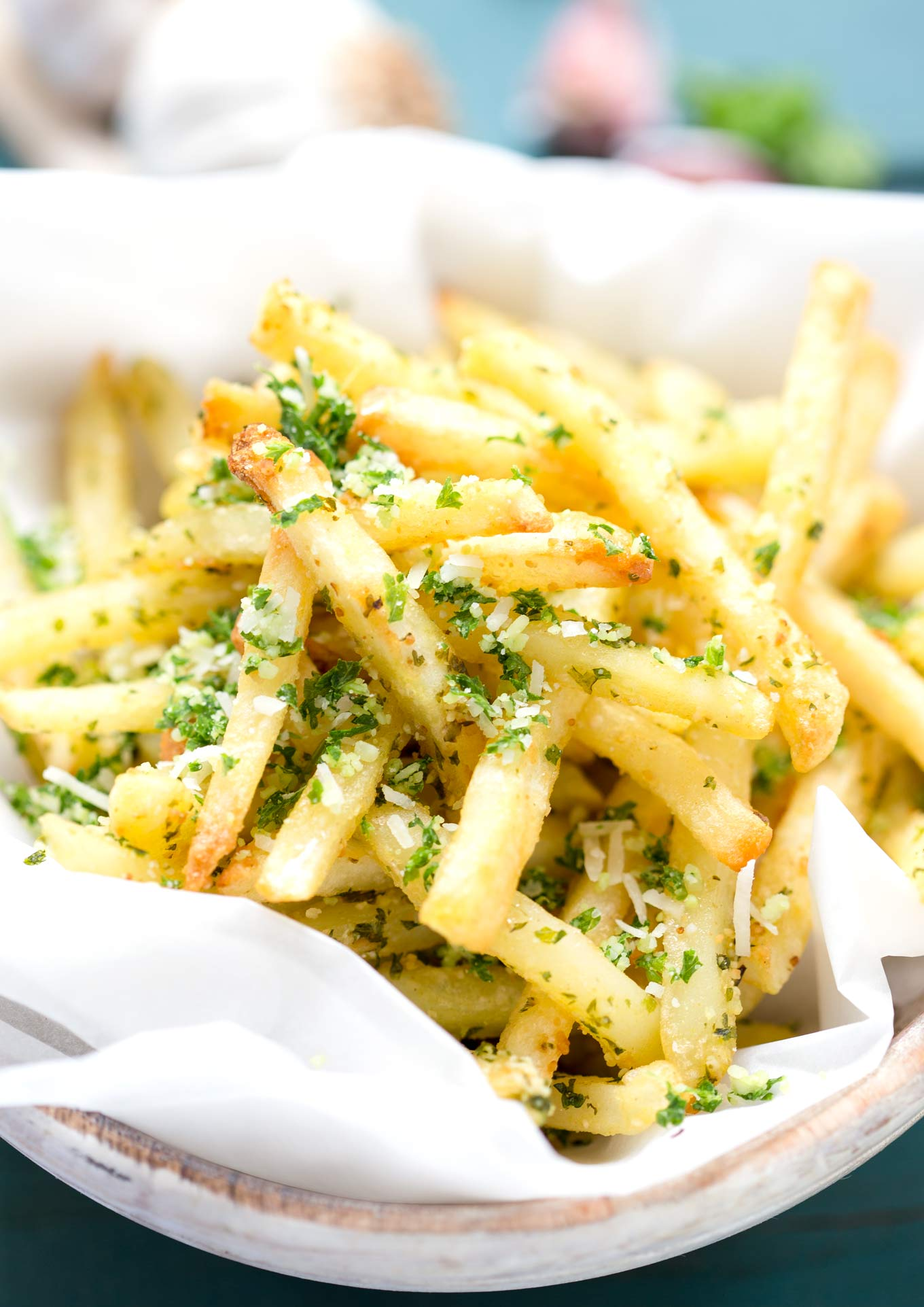 SKINNY GARLIC FRIES | GARLIC MATTERS